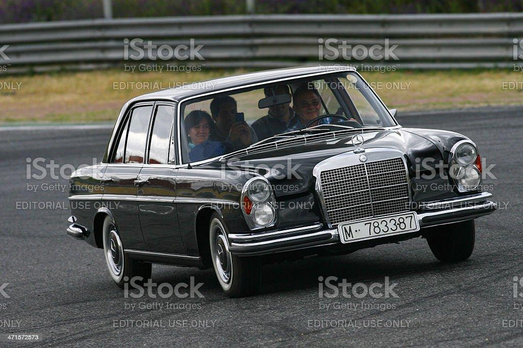 Mercedes 500 SEL royalty-free stock photo
