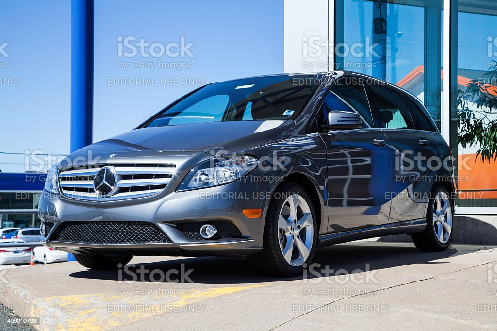 Mercedes B250 Vehicle royalty-free stock photo
