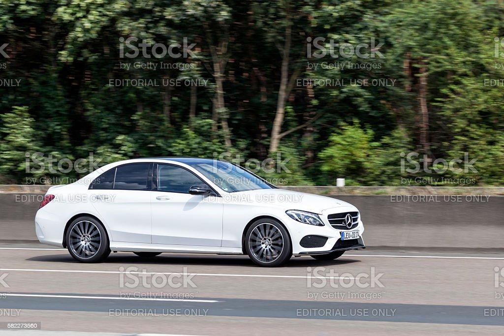 Mercedes Benz C-Class Sedan stock photo