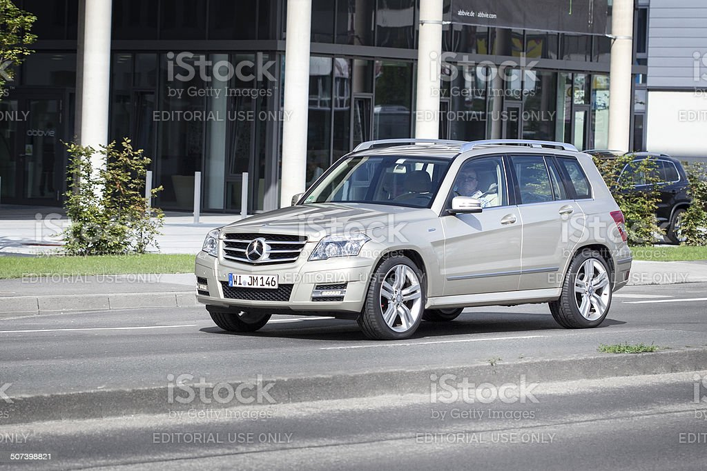 Mercedes Benz C-Class (W204) station wagon royalty-free stock photo