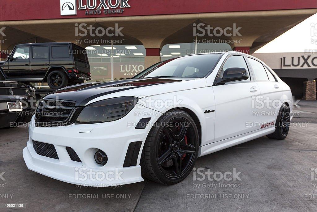 Mercedes Benz CL 63 stock photo