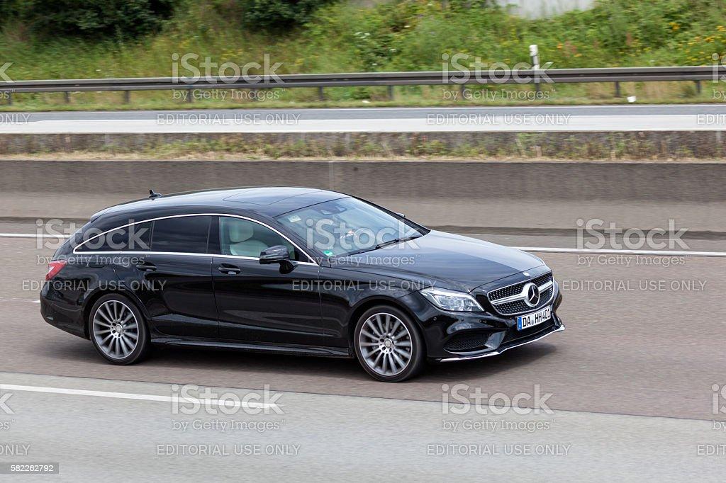 Mercedes Benz CLA Shooting Brake stock photo