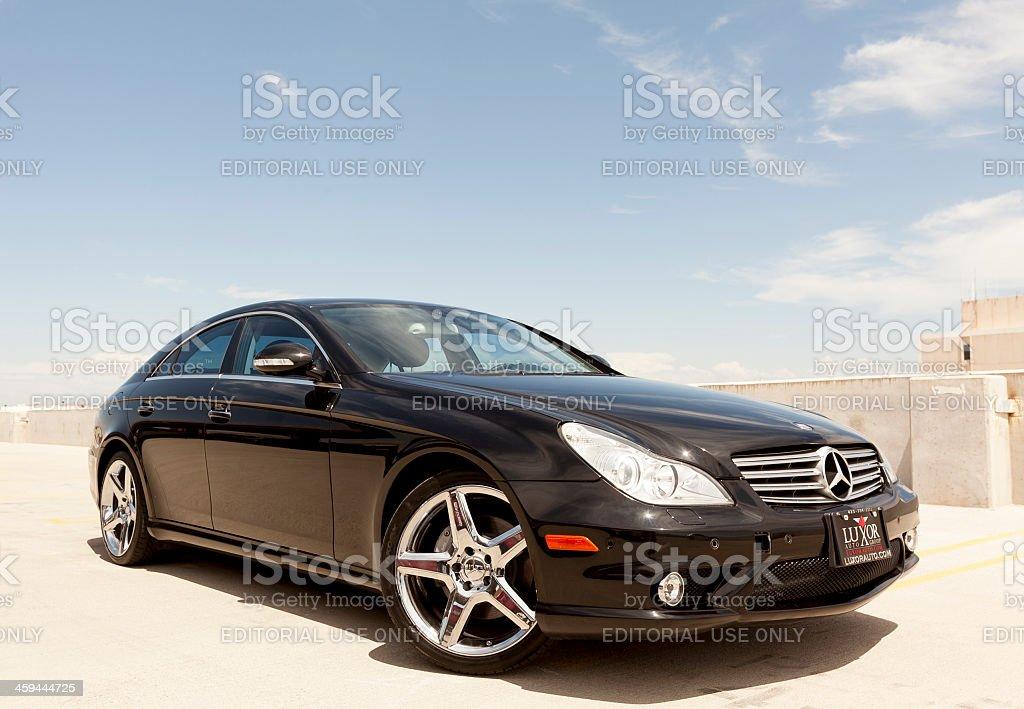 Mercedes Benz CLS 500 stock photo