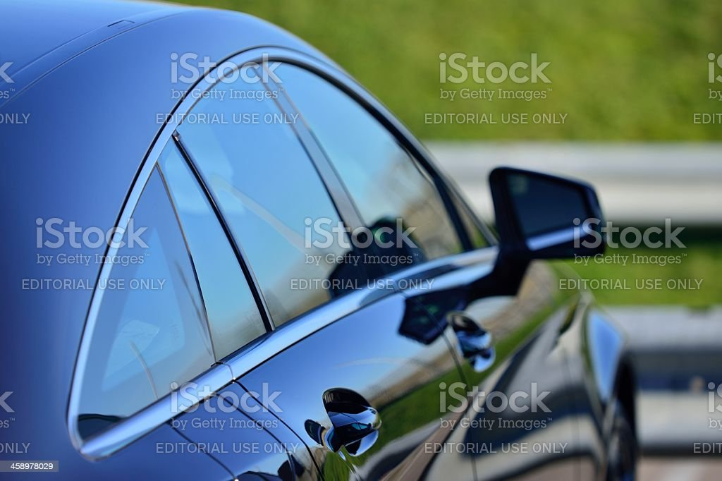 Mercedes Benz CLS Shooting Brake stock photo