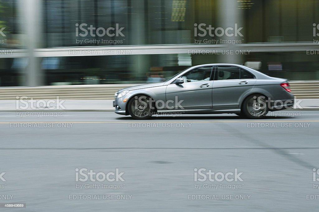 Mercedes Benz E-Class royalty-free stock photo