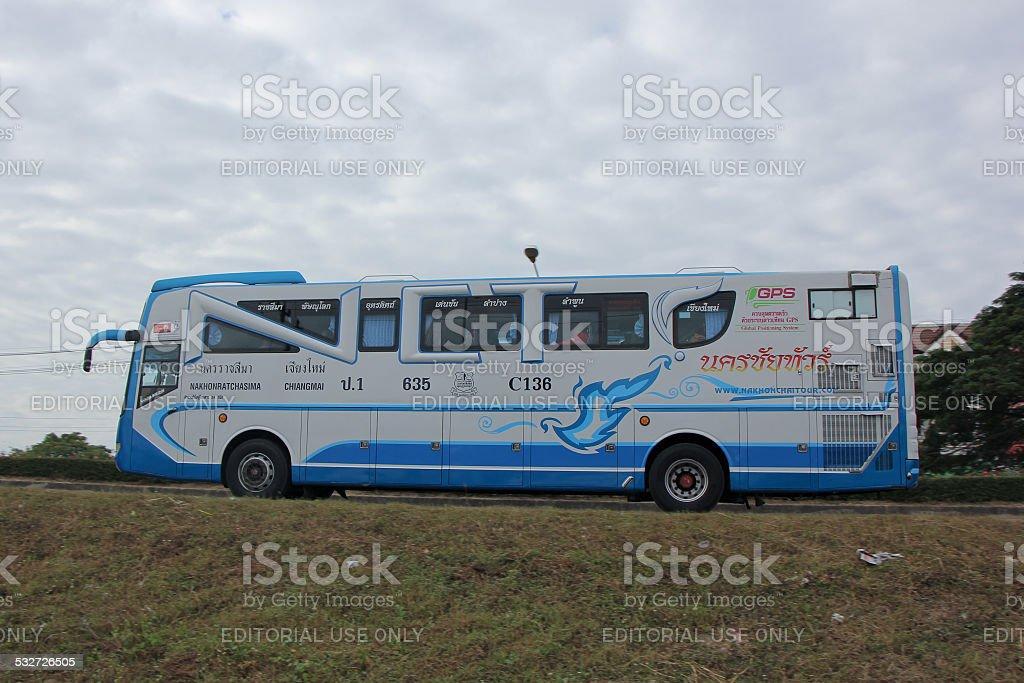 Mercedes benz  of Nakhonchai tour stock photo