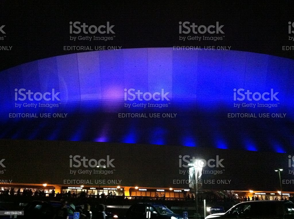 Mercedes Benz SuperDome New Orleans, Louisiana USA stock photo