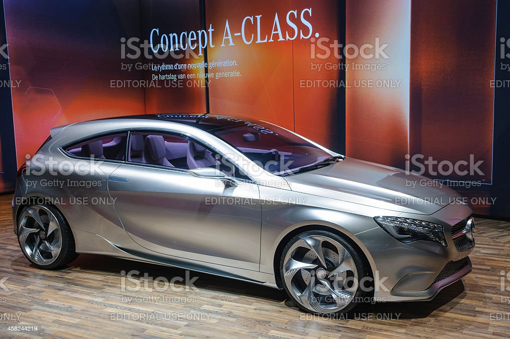Mercedes Concept A-Class royalty-free stock photo