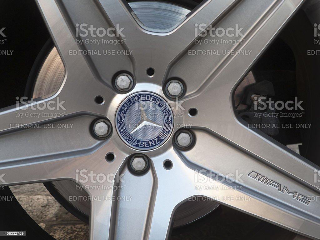 Mercedes royalty-free stock photo