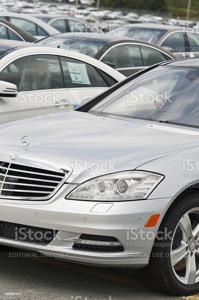 Mercedes Sedan royalty-free stock photo