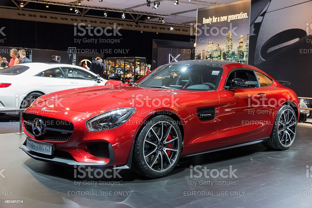 Mercedes-AMG GT stock photo