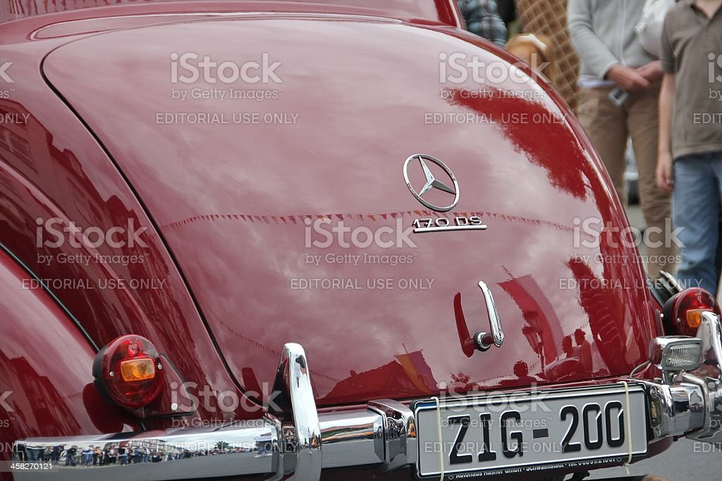 Mercedes-Benz 170 DS royalty-free stock photo