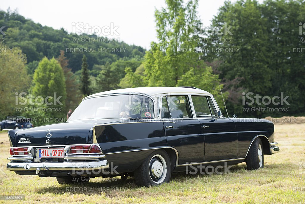 Mercedes-Benz 230S Automatic (W111) royalty-free stock photo