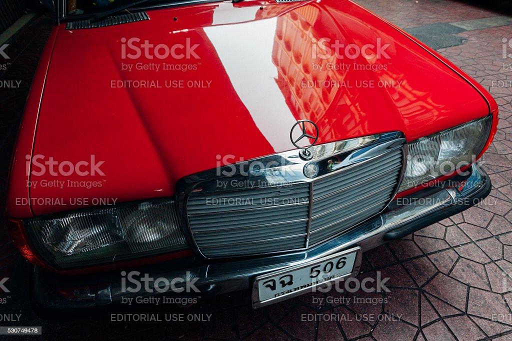 Mercedes-Benz 280E stock photo