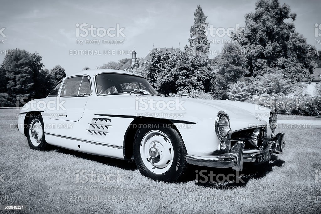 Mercedes-Benz 300SL Gullwing stock photo