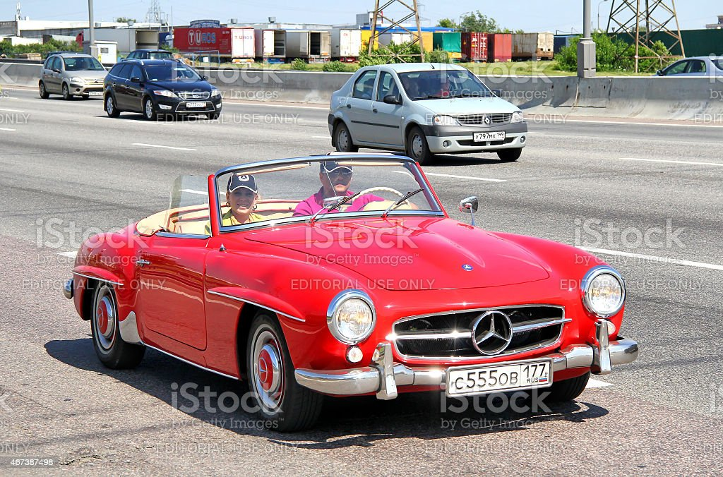 Mercedes-Benz 300SL stock photo