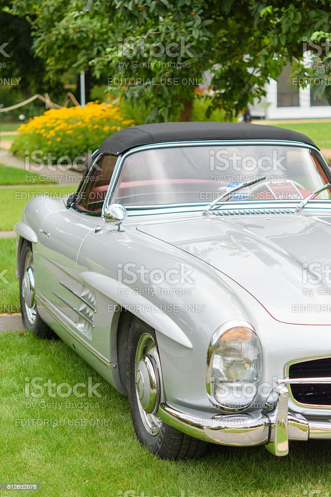 Mercedes-Benz 300SL Roadster convertible classic sports car stock photo