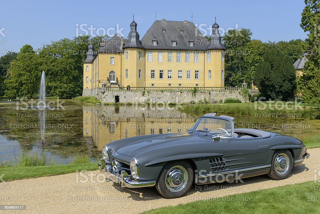 Mercedes-Benz 300SL Roadster stock photo
