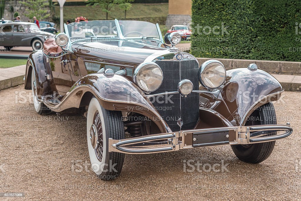 Mercedes-Benz 500 K Luxus Roadster stock photo