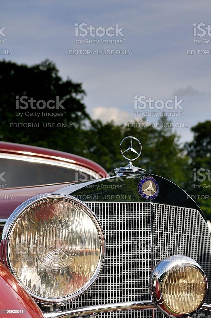 Mercedes-Benz 540 K stock photo