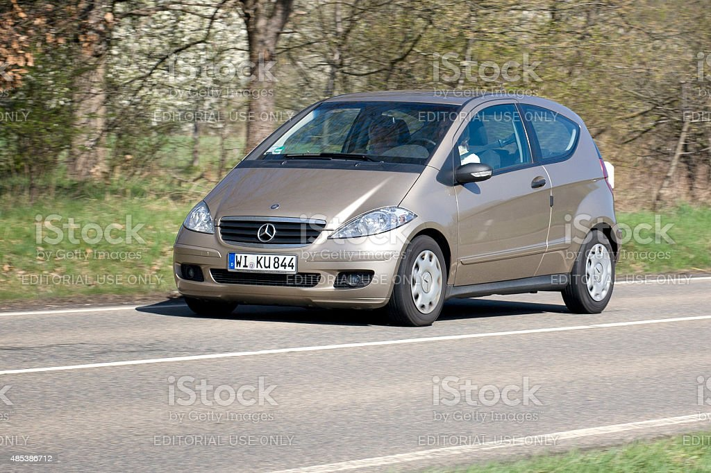 Mercedes-Benz A-Class (W169 facelift) stock photo