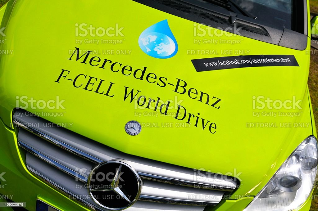Mercedes-Benz B-class F-Cell stock photo