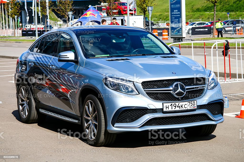 Mercedes-Benz C292 GLE-class stock photo