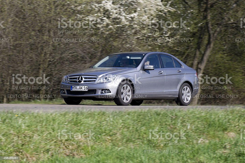 Mercedes-Benz C-Class royalty-free stock photo