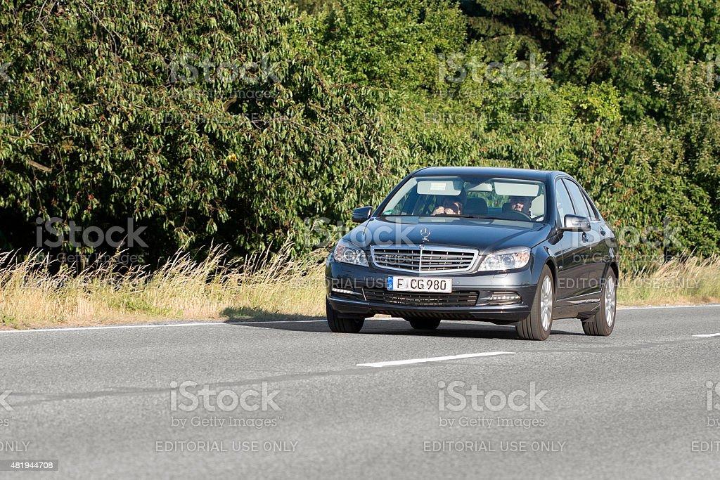 Mercedes-Benz C-Class (W204) stock photo