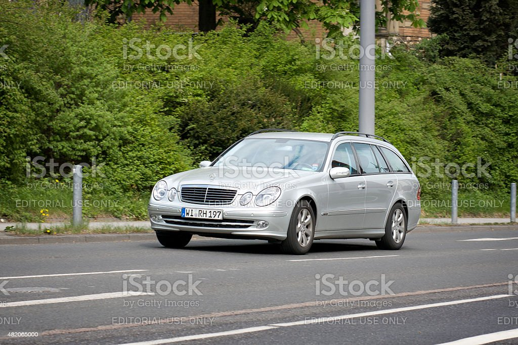 Mercedes-Benz C-Class Station Wagon (S203) stock photo