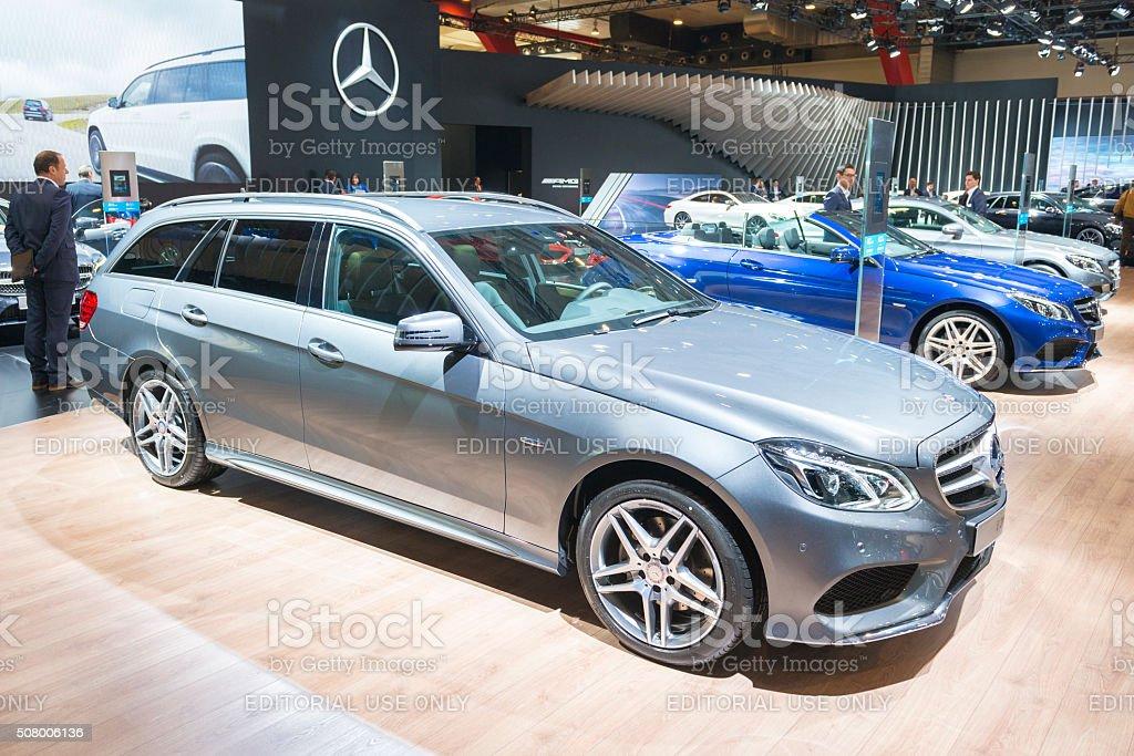 Mercedes-Benz E-Class Wagon stock photo