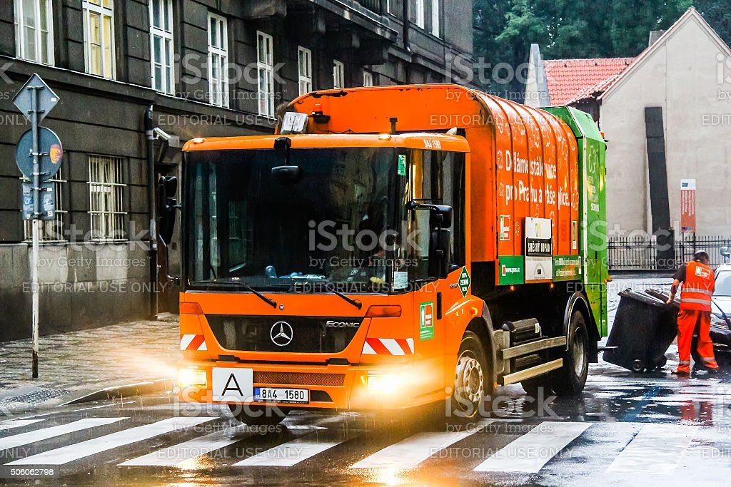 Mercedes-Benz Econic stock photo