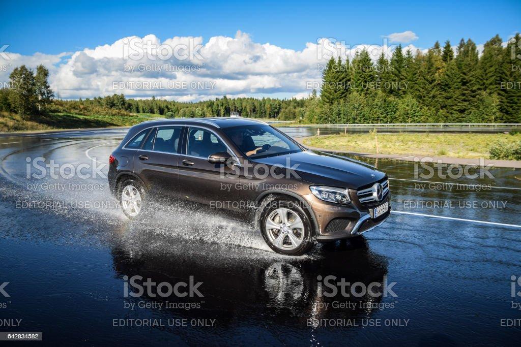Mercedes-Benz GLC Hybrid stock photo