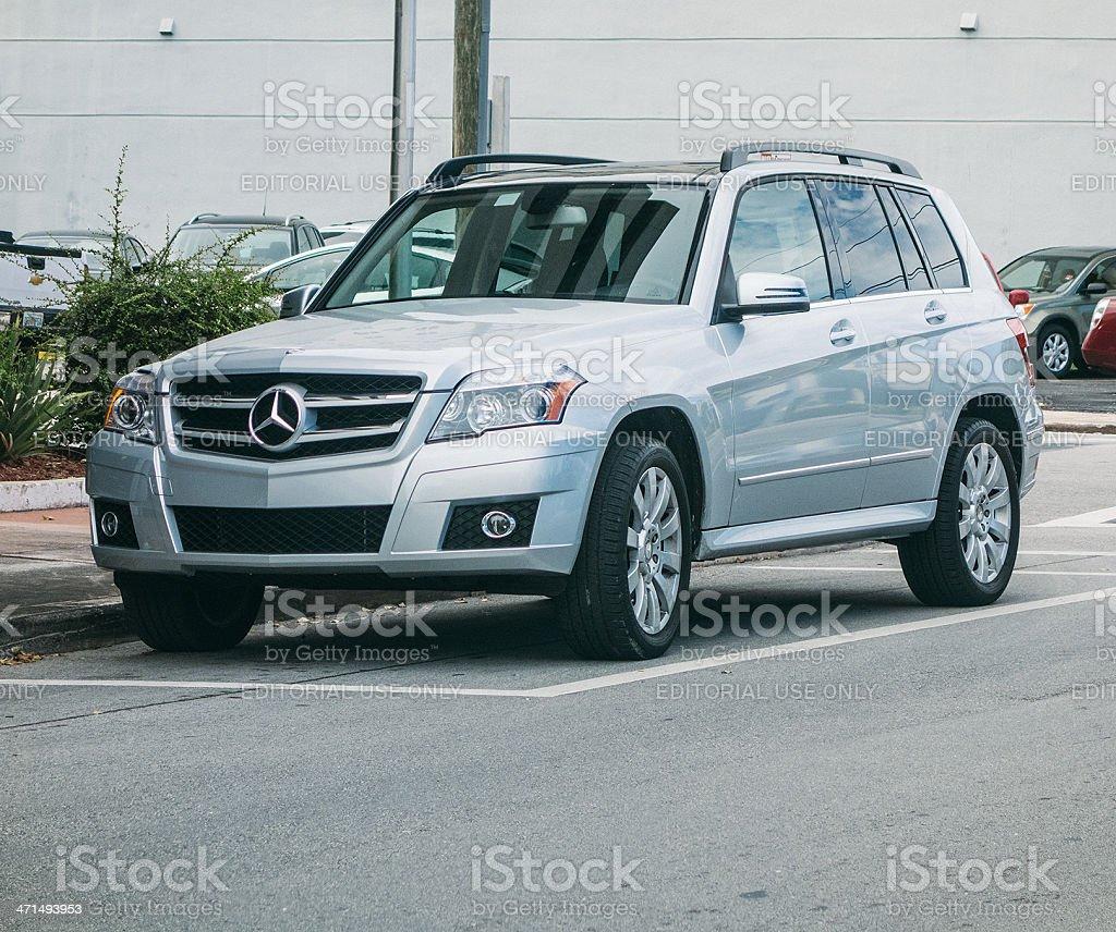 Mercedes-Benz GLK 350 SUV stock photo