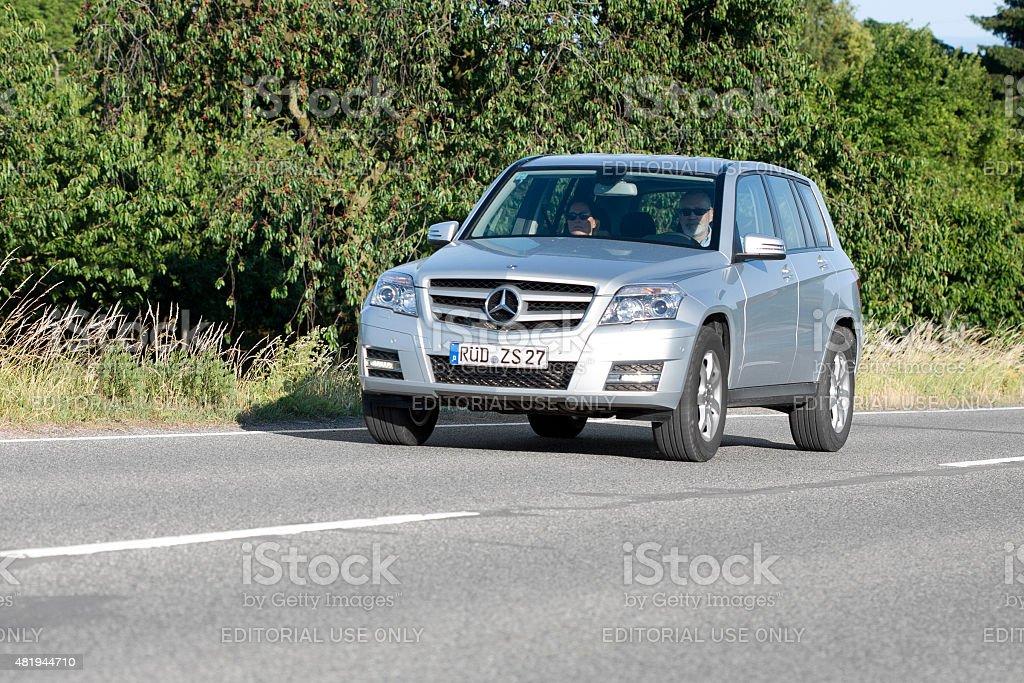 Mercedes-Benz GLK-Class (X204) stock photo