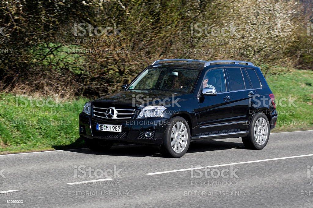 Mercedes-Benz GLK-Class stock photo