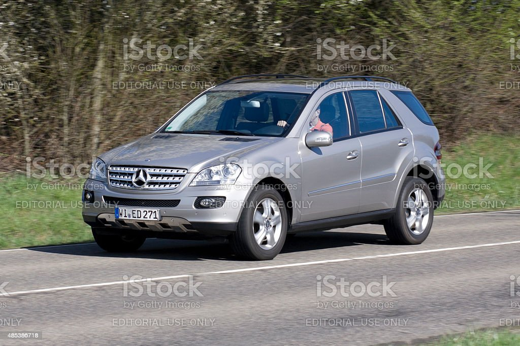 Mercedes-Benz M-Class SUV, (W 164-series) stock photo