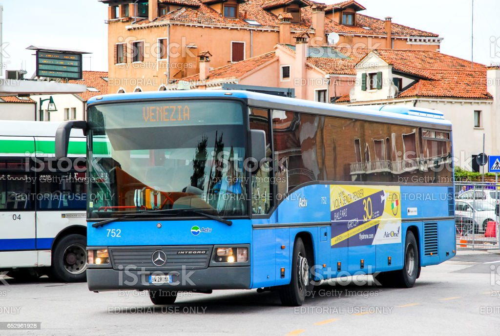 Mercedes-Benz O550 Integro stock photo