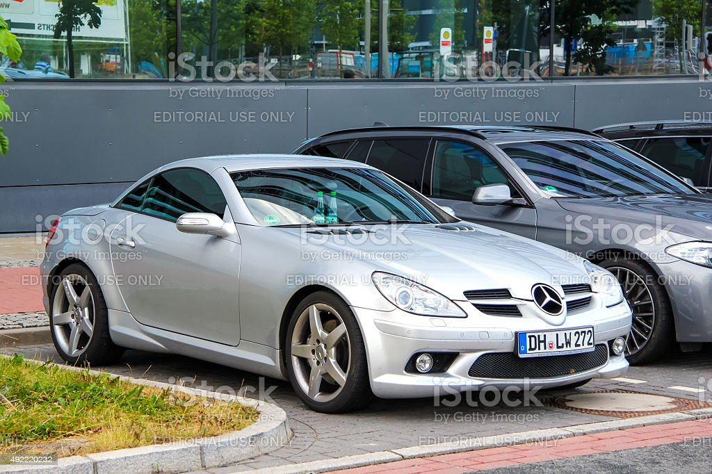 Mercedes-Benz R171 SLK-class stock photo
