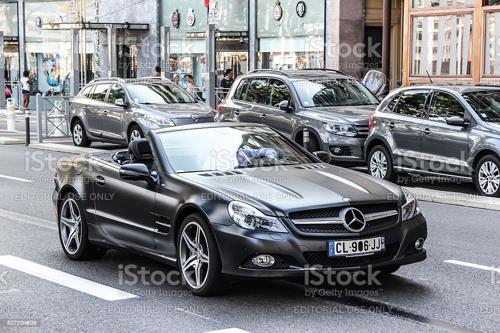 Mercedes-Benz R230 SL-class stock photo