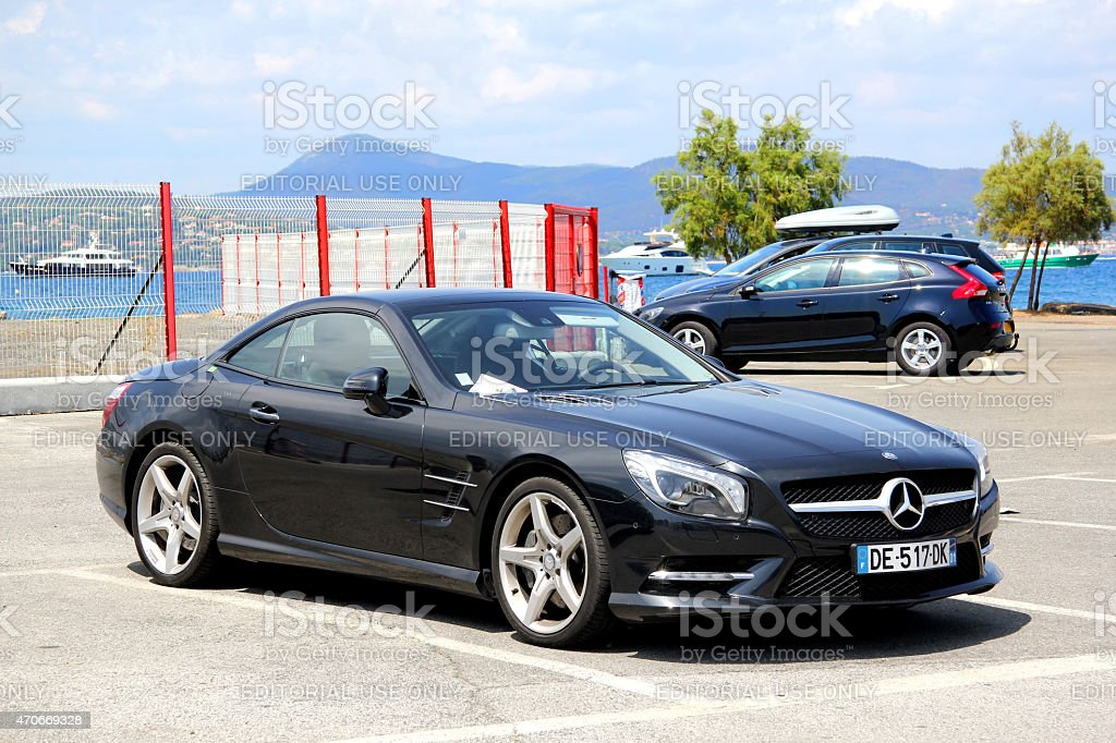 Mercedes-Benz R231 SL-class stock photo