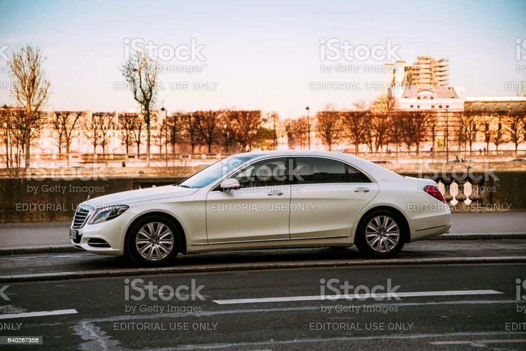 Mercedes-Benz S Class stock photo