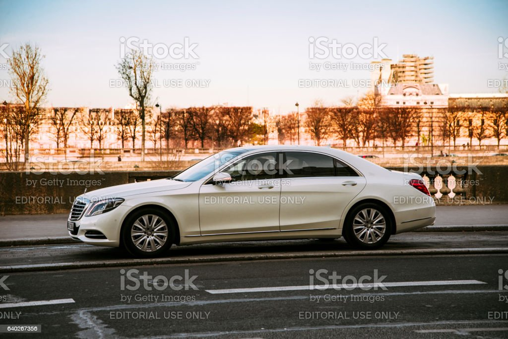 Mercedes-Benz S Class stock photo