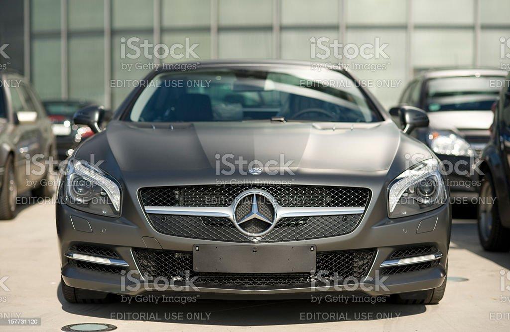 Mercedes-Benz SL 500 stock photo