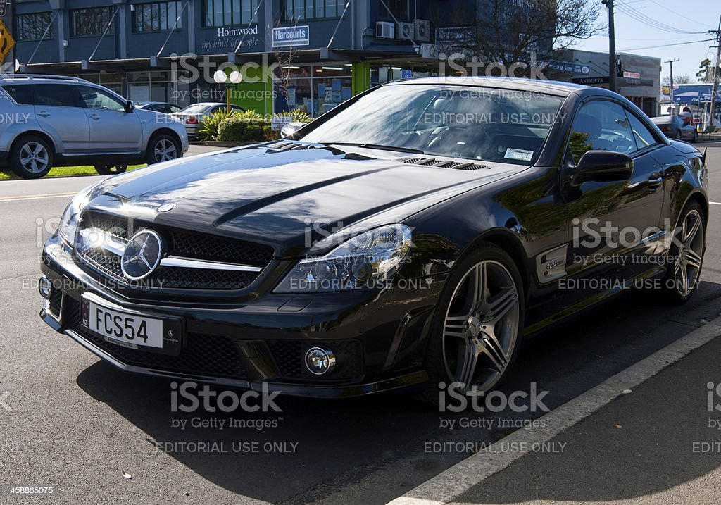 Mercedes-Benz SL 63 AMG from 2009 royalty-free stock photo