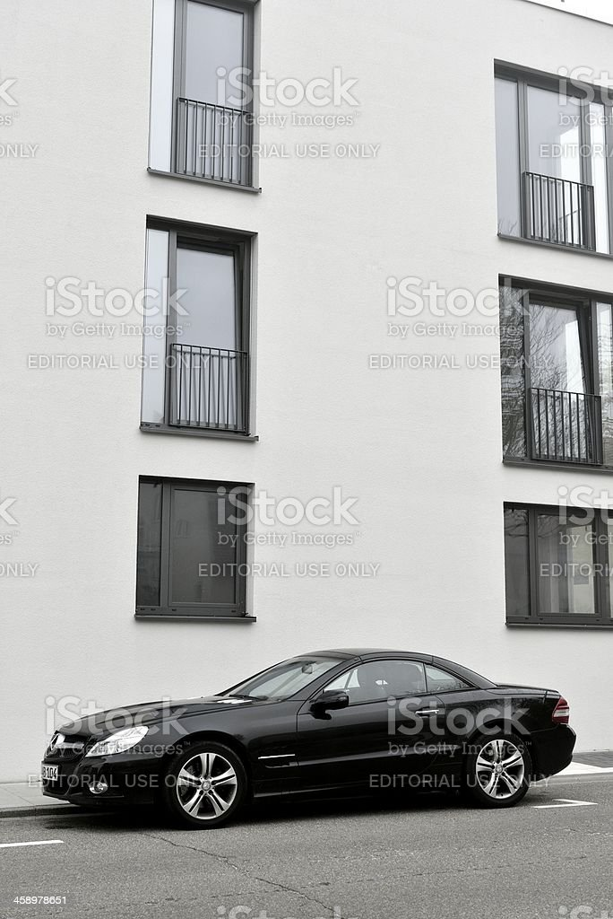 Mercedes-Benz SL royalty-free stock photo