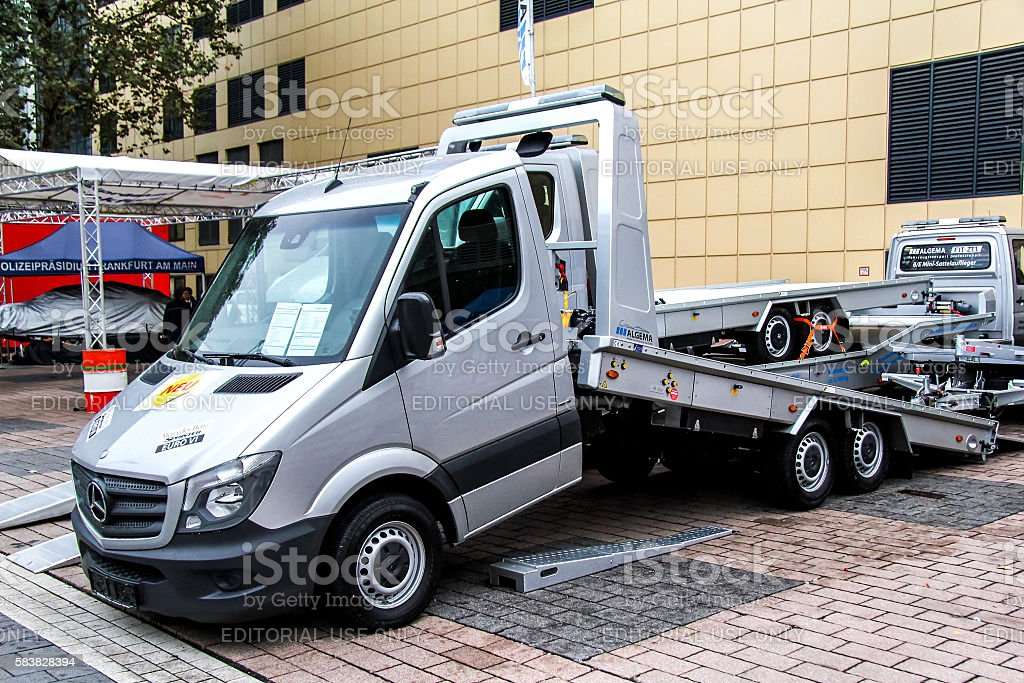 Mercedes-Benz Sprinter stock photo