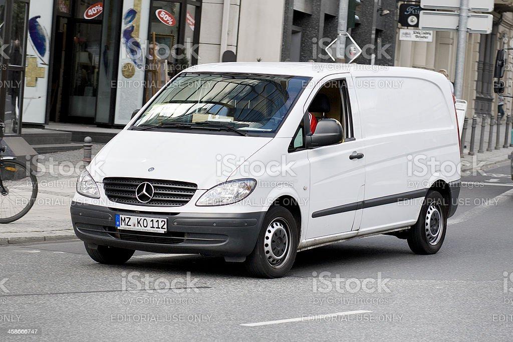 Mercedes-Benz Vito delivery van royalty-free stock photo