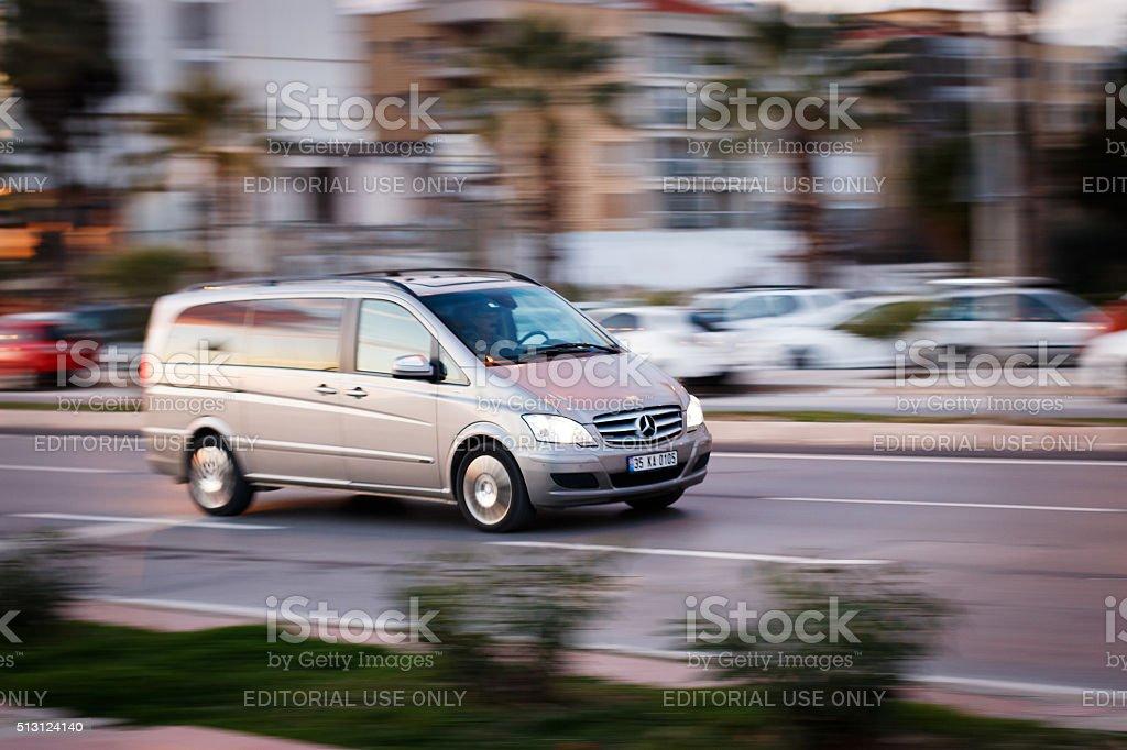 Mercedes-Benz Vito van people carrier stock photo