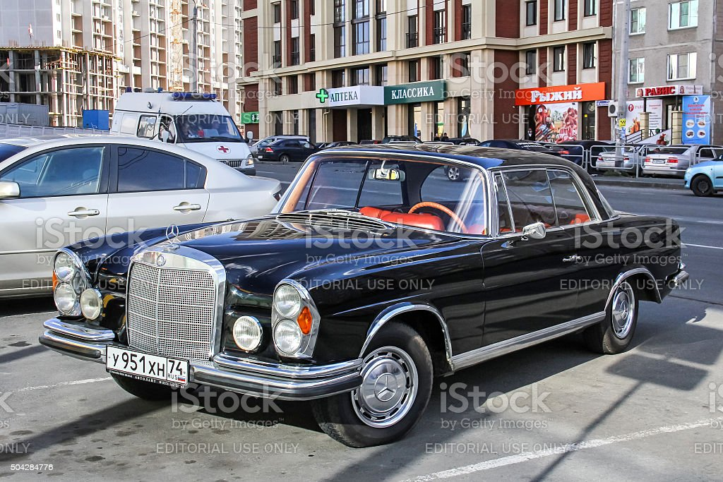 Mercedes-Benz W112 300SE stock photo